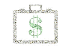 Briefcase of Money Stock Images