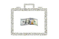 Briefcase of Money Royalty Free Stock Image