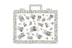 Briefcase of Money Stock Photo