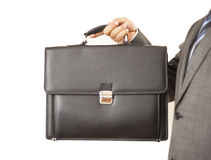 Briefcase is nine to carry files Royalty Free Stock Photography