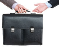 Briefcase Offer Stock Photo