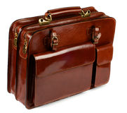 Briefcase with Pockets Royalty Free Stock Images