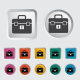 Briefcase single icon. Royalty Free Stock Image