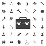 Briefcase Tool icon. royalty free illustration