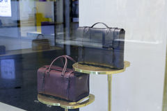Briefcase and travel bag Royalty Free Stock Photography