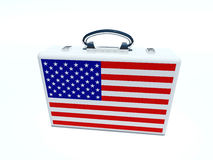 Briefcase USA Royalty Free Stock Image