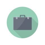 Briefcase Vector Icon in Flat Style Design Stock Photos