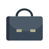 Briefcase Vector Illustration in Flat Design. Royalty Free Stock Image