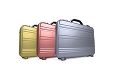 Briefcases Stock Image