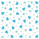 Briefgestaltungs-Grußkarte der frohen Weihnachten flache Langer Schatten auf grünem Hintergrund, Stockbilder