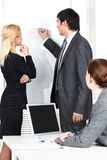 Briefing Royalty Free Stock Image