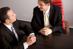 Briefing Royalty Free Stock Photos