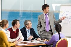 Briefing Royalty Free Stock Photo