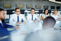Briefing Stock Photography
