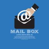 Briefkasten. stock abbildung