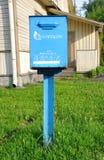Briefkasten im Freien in Weißrussland Stockbilder