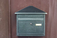 Briefkasten mit Beschneidungspfad Lizenzfreie Stockbilder