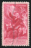 Briefmarke Stockbild