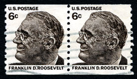 Briefmarke Franklins D Roosevelt USA Stockbild