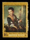 Briefmarke lokalisiert Lizenzfreie Stockbilder