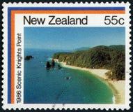 Briefmarke - Neuseeland Stockbild