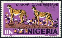 Briefmarke - Nigeria lizenzfreies stockfoto