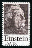 Briefmarke USA-15c Einstein Stockbilder