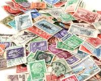 Briefmarken Stockbild