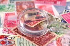 Briefmarkensammeln3 Lizenzfreie Stockbilder
