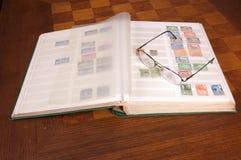 Briefmarkensammlung Lizenzfreies Stockfoto