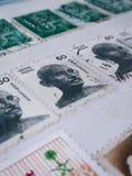 Briefmarkensammlung stockbilder