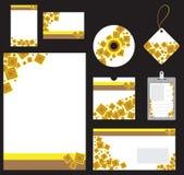 Briefpapier eingestellt für Firmavektorformat Lizenzfreie Stockbilder