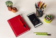 Briefpapier für Kreativität und Studie Lizenzfreie Stockfotografie