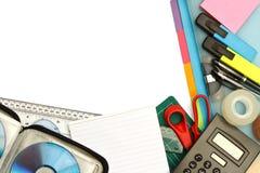 Briefpapier und Bürozubehöre Lizenzfreie Stockfotografie
