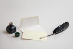 Briefpapiersatz Stockfotografie