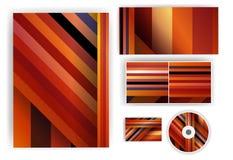 Briefpapiersatz für Ihr Design Stockfotos