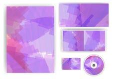 Briefpapiersatz für Ihren Entwurf Stockfoto