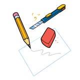 Briefpapierset Lizenzfreies Stockbild