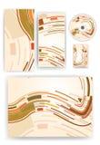 Briefpapierset für Ihre Auslegung Lizenzfreie Stockbilder