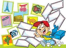 Briefträger Lizenzfreies Stockfoto
