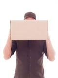 Briefträger stockfoto
