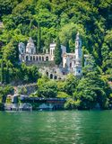 Scenic sight in Brienno, on the Como Lake, Lombardy, Italy. Stock Photography