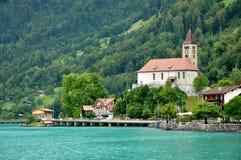 brienz横向瑞士 库存照片