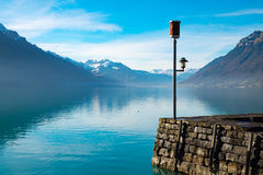 brienz湖瑞士 库存图片