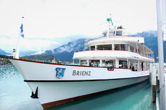 Brienz cruise Stock Images
