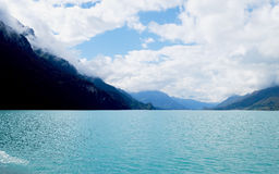 Brienz cruise. Brienz lake View from Brienz cruise Royalty Free Stock Photo
