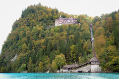 Brienz cruise. Brienz lake View from Brienz cruise Stock Image