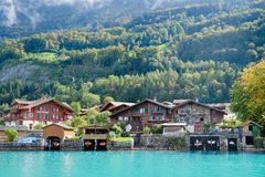 Brienz cruise Stock Photography
