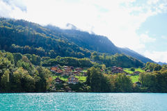 Brienz cruise. Brienz lake View from Brienz cruise Royalty Free Stock Image