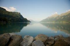 Brienz del lago Fotografia Stock Libera da Diritti